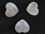 Agate Small Jewellery Heart 200pcs