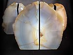 Agate Bookends 3-5kg - 2 pairs