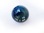 Blue Agate Spheres 45mm - 5pcs