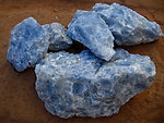 Blue Calcite Rough 10 lb Lot