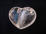 Quartz Crystal Heart 90g