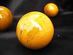 Yellow Jasper Sphere 40 mm