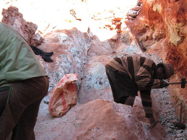 Madagascar Minerals® Amazonite Mine
