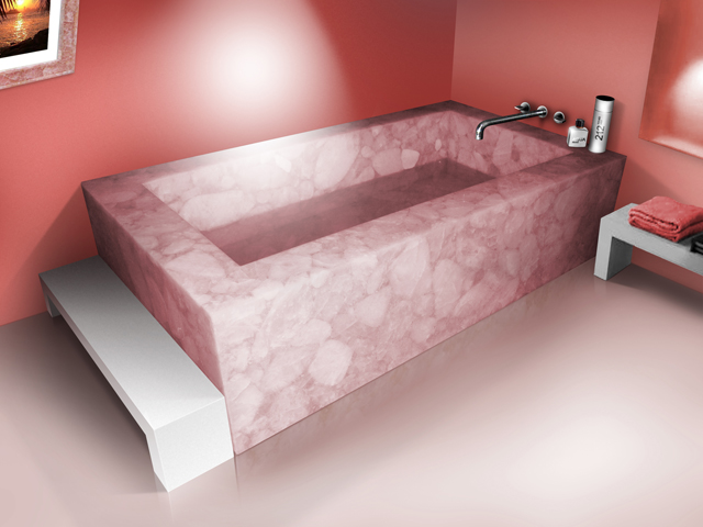 Nice Name: Rose Quartz Bathtub