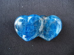 Apatite Jewellery Double Heart