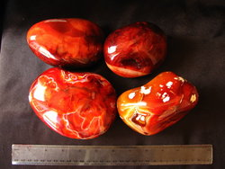 Carnelian Gallet Extra Large 1PC