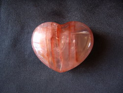 Fire Quartz Hearts 90g