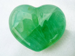 Fluorite Decorative Heart