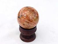 Orange Calcite Spheres 45mm - 2pc Lot