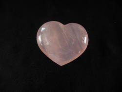 Rose Quartz, Hearts, (90 grams) Regular Quality