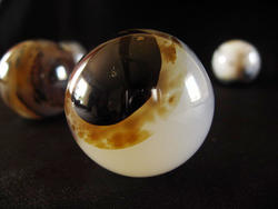 Agate Spheres (60mm) - 2pc