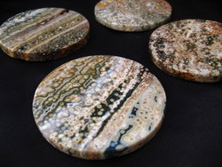 Sea Jasper Coasters 10 Sets (4pcs Set)