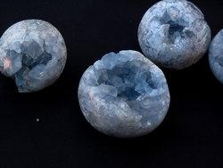 Celestite Spheres 40mm
