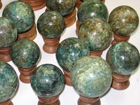 Chrysocolla Sphere (60mm) - 2pc