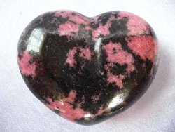 Rhodonite Heart 200g