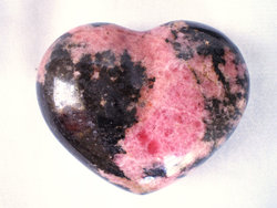 Rhodonite Heart 90g