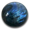 Labradorite Sphere (40mm) 1PC