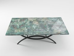 Chrysocolla Table Top (140 x 83 x 3 cm)