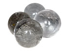 Quartz Spheres 35 mm - AA Quality 5pc Lot