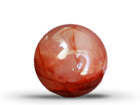 Fire Quartz Sphere (40mm)