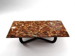 Carnelian Table Top (140 x 83 x 3 cm)