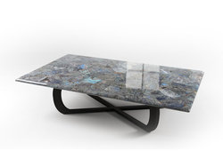 Peacock Blue Labradorite Table Top (140 x 83 x 3 cm)
