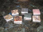 6 piece Gem Surfaces� 10x10cm sample kit