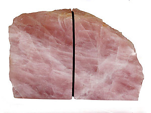 Rose Quartz, Bookends (3-5Kg)