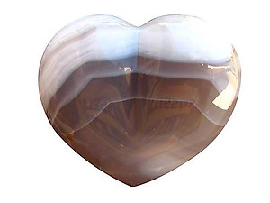 Agate Large Decorative Heart