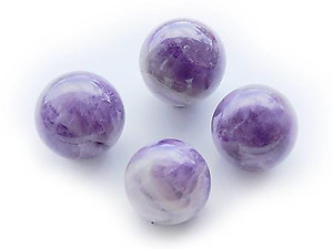 Amethyst Spheres (55mm)