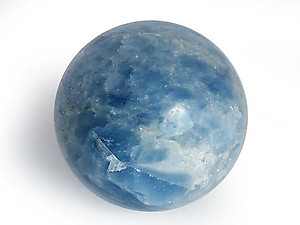 Blue Calcite Spheres (50mm)