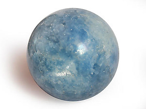 Blue Calcite Spheres (55mm)