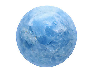 65 mm Blue Calcite Sphere