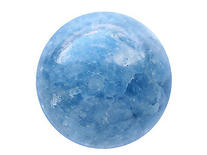 70 mm Blue Calcite Spheres