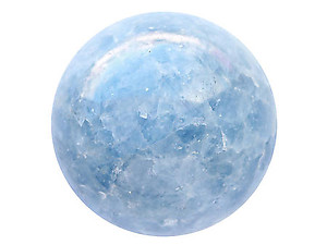Blue Calcite Large Spheres (80mm)