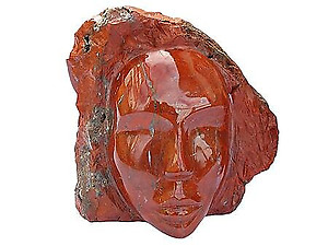 Chestnut Jasper Face