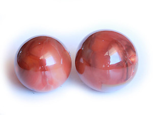 40-65 mm Wholesale - Carnelian Spheres