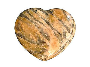 Zebradorite Decorative Heart