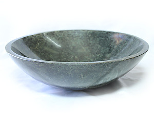 Crocodile Jasper Bowl 12 inch