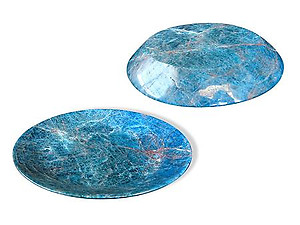 Apatite Plate Simple Base - 8 inch