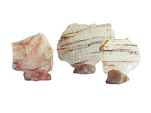 Fire Quartz Slices (5-7 inch)
