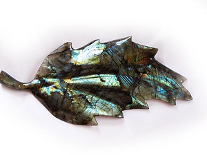 Small Labradorite Leaves