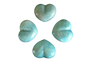 Amazonite Large Decorative Heart