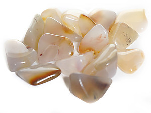 Multicolored Agate Tumbled Stones - Medium (20-30mm) - 1LB