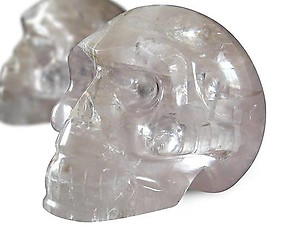 Optical Calcite Skulls