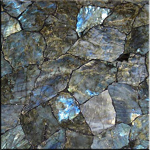Labradorite Electric Midnight Tile (40 x 40 cm)