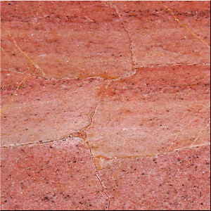 Strawberry Calcite Tile (40 x 40 cm)