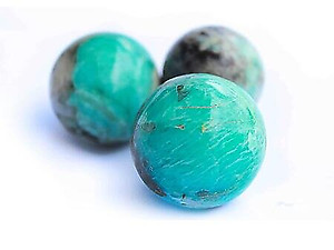Amazonite Spheres - Wholesale (40-60mm)