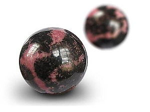 Wholesale - Rhodonite Spheres (25-60mm)