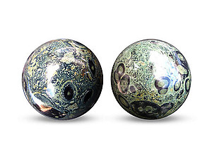 Crocodile Jasper Spheres 50mm
